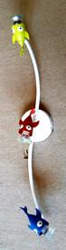 IKEA 3 HALOGEN BULB FISH SPOTLIGHT