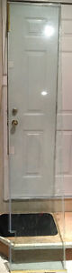 Shower Glass Door and Sidelite