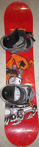 """5150 """"REACTION"""" 118 CM SNOWBOARD WITH BINDINGS"""