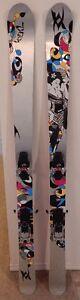 Volkl Aura 170cm skis with G3 Onyx bindings