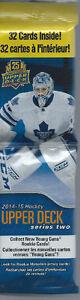 2014-15   Upper Deck Series 2 Hockey Fat Pack (32 cards)