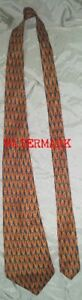 LIBERTY OF LONDON HAND PRINTED SILK TIE, MADE IN ENGLAND
