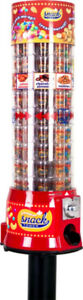 5 Canadian Snack Tower Vending machines MISSISSAUGA+delivery