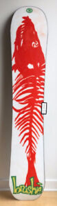 Snowboard Burton The Brushie 2017 157cm JeffBrushie 1993 reissue