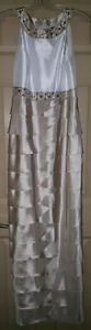 Pearl & taupe long dress & 20 more