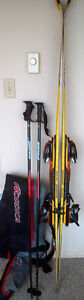 Atomic beta race 9.34+Atomic bindings with Nordica ski bag