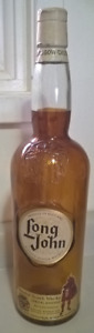 Vintage Rare Long John Blended Scotch Whisky Empty Bottle