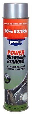 6x Presto Power Bremsenreiniger 600 ml