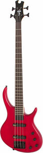 Epiphone Toby Deluxe IV Bass Guitar-Trans Red Satin- NEW IN BOX