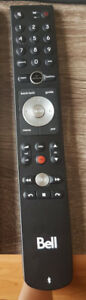 Genuine Bell Fibe Bluetooth Slim Remote- Bell Fibe 4K VIP5662W