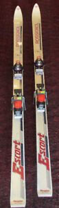Rossingnol Escort 185cm Downhill Skis with Bindings