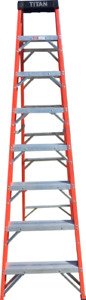 New Fiberglass Ladders Multi Sizes