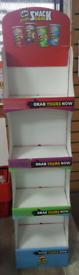 Pringles retail display stand