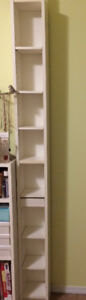 IKEA Gnedby DVD / CD / Book Shelving Unit