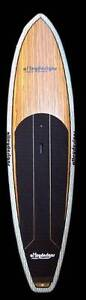 """Stand up paddle board carbon net rail timber surf 10'6""""x32"""" Currumbin Waters Gold Coast South Preview"""