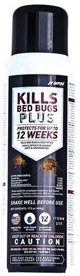 JT Eaton 217 Kills Bed Bugs Plus Aerosol Water Based Insect Spray, 17.5oz