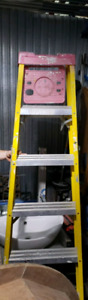 Escabeau fiber-lite en alluminium