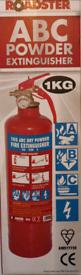 1kg ABC Powder Fire Extinguisher with Bracket