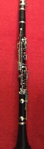 Kenosha Wis. Clarinet for sale. Good school band instrument.