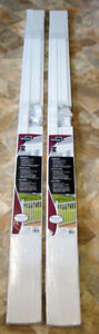 New and Unopened 2 white versa rail kits for outdoors , deck