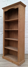 Solid Pine Bookcase (DELIVERY AVAILABLE)