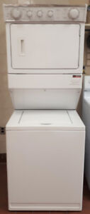 Whirlpool Thin Twin FULL Size Stackable Washer & Dryer