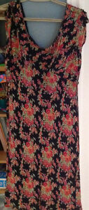 April Cornell pretty floral dress