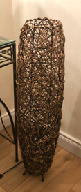 Next Wicker Floor Lamp