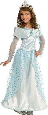 Blue Princess Cinderella Costume Halloween Fancy Dress Girls Kids Child S M - Cinderella Halloween Costume Child
