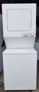 Maytag Large Stacked Washer Dryer, 12 month warranty