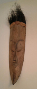 African mask $25