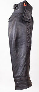 Custom Leather Chaps by Linda, Mens, Large