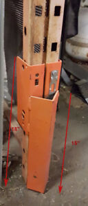 Pallet Rack Guards - NEW - USED - Cheap and strong