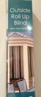 OUTSIDE ROLL UP BLIND 150cm WIIDE CAPRICE by 210cm DROP Kogarah Rockdale Area Preview