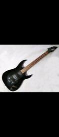 Ibanes Gio Black electric guitar