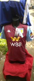 Aston villa shirt brand new with tags was £55