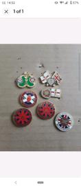 Heart of middlothian pin badge bundle