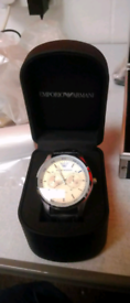 Armani dress watch