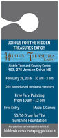 Join Us For The Hidden Treasures Expo!!!