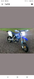 Yamaha WR450F Supermoto road legal
