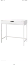White Alex Ikea Desk - used only a couple of months - great condition