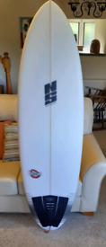 Nigel Semmons Surfboard 'Crunchie' 6'0