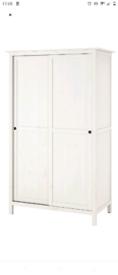 White Hemnes IKEA wardrobe