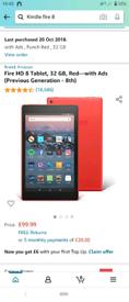 Amazon Kindle fire 8 HD 32gb