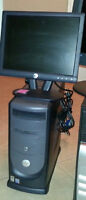 Dell Dimension 2400 Mid Tower runs perfect. $60 system only.(Ce