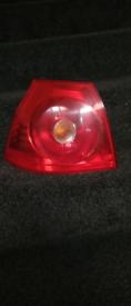REAR LIGHT SECTION N/S OFF VW GOLF MK5