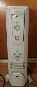 Chauffage Radiateur portatif sur roulette / NOMA