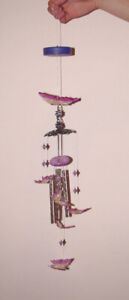 Most New - Wind Chimes, Hanging & Rail Planter, Frog Ornament