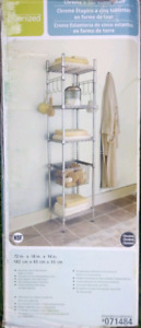 Tower shelf organizer