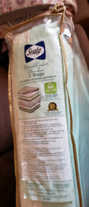 Sealy Natural comforts ultra luxe 2 stages BRAND NEW IN BAG